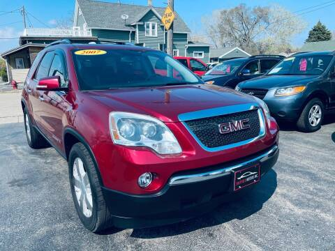 2007 GMC Acadia for sale at SHEFFIELD MOTORS INC in Kenosha WI