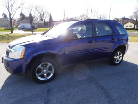 2007 Chevrolet Equinox for sale at A-Auto Luxury Motorsports in Milwaukee WI