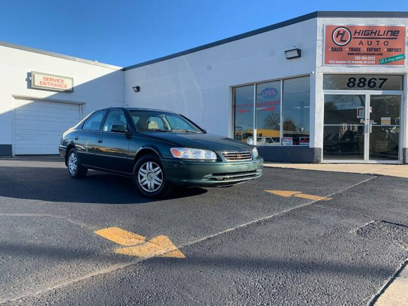 2001 Toyota Camry for sale at HIGHLINE AUTO LLC in Kenosha WI