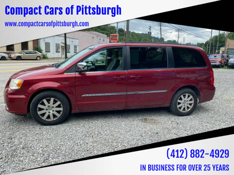 2011 Chrysler Town and Country for sale at Compact Cars of Pittsburgh in Pittsburgh PA