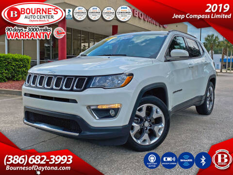 2019 Jeep Compass for sale at Bourne's Auto Center in Daytona Beach FL