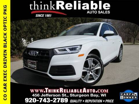 2020 Audi Q5 for sale at RELIABLE AUTOMOBILE SALES, INC in Sturgeon Bay WI