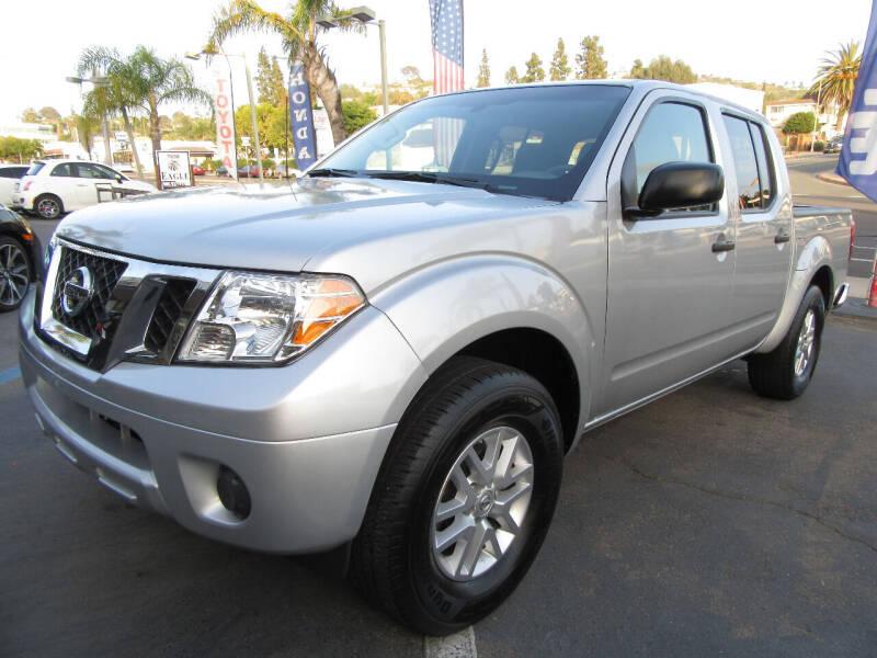 2019 Nissan Frontier for sale at Eagle Auto in La Mesa CA