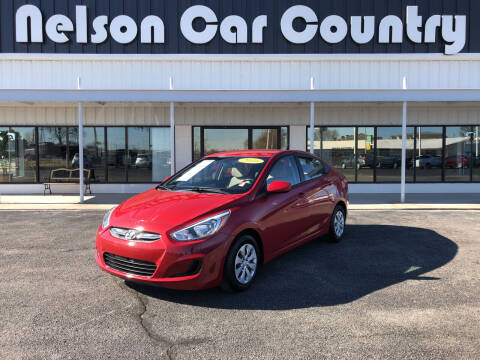 2016 Hyundai Accent for sale at Nelson Car Country in Bixby OK
