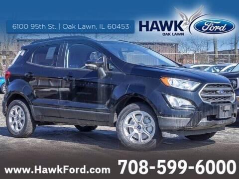 2021 Ford EcoSport for sale at Hawk Ford of Oak Lawn in Oak Lawn IL
