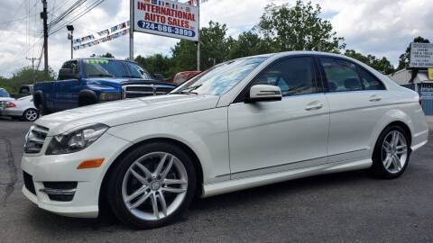 2012 Mercedes-Benz C-Class for sale at INTERNATIONAL AUTO SALES LLC in Latrobe PA