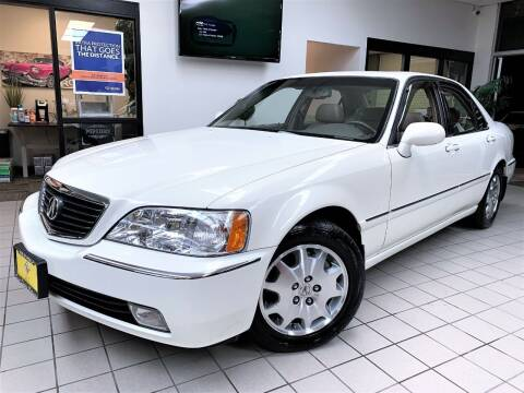 2003 Acura RL for sale at SAINT CHARLES MOTORCARS in Saint Charles IL