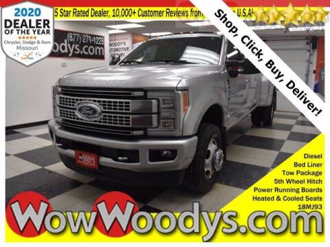 2018 Ford F-350 Super Duty for sale at WOODY'S AUTOMOTIVE GROUP in Chillicothe MO