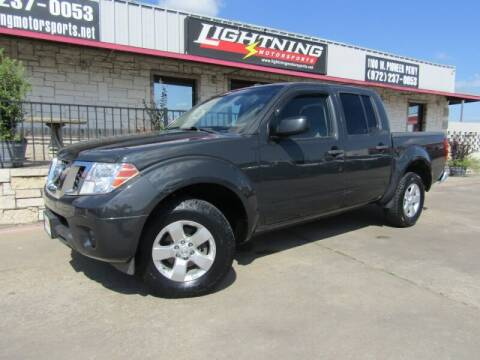 2013 Nissan Frontier for sale at Lightning Motorsports in Grand Prairie TX