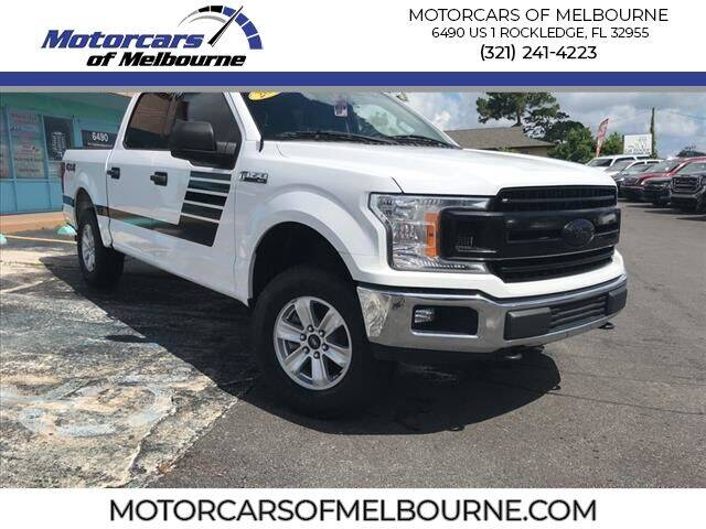 2018 Ford F-150 for sale at Motorcars of Melbourne in Rockledge FL