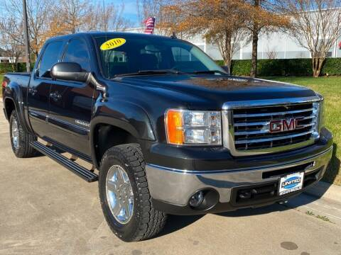 2010 GMC Sierra 1500 for sale at UNITED AUTO WHOLESALERS LLC in Portsmouth VA