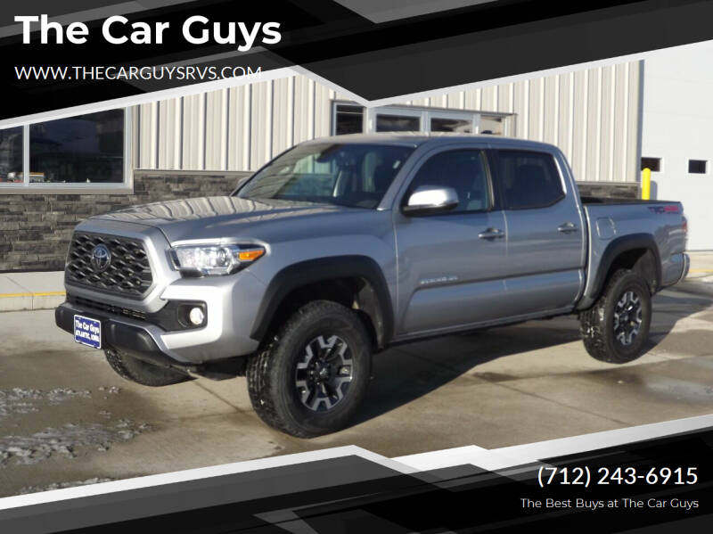 2020 Toyota Tacoma for sale at The Car Guys RV & Auto in Atlantic IA