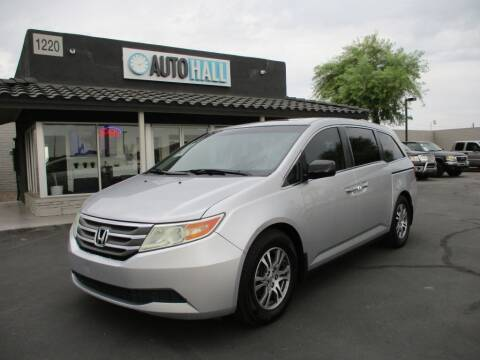 2012 Honda Odyssey for sale at Auto Hall in Chandler AZ