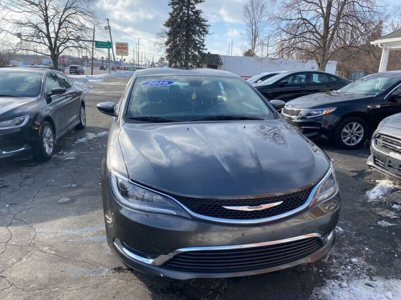 2016 Chrysler 200 for sale at Motornation Auto Sales in Toledo OH