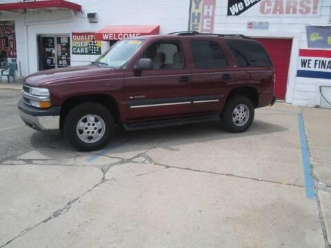 2002 Chevrolet Tahoe for sale at Summit Auto Sales Inc in Pontiac MI