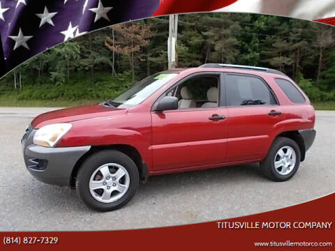 2008 Kia Sportage for sale at Titusville Motor Company in Titusville PA