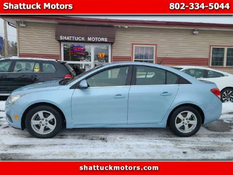 2011 Chevrolet Cruze for sale at Shattuck Motors in Newport VT