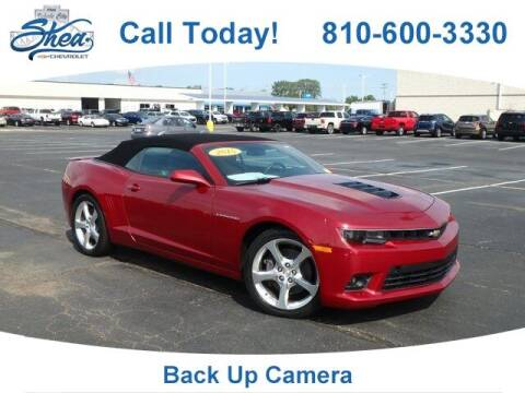 2015 Chevrolet Camaro for sale at Erick's Used Car Factory in Flint MI