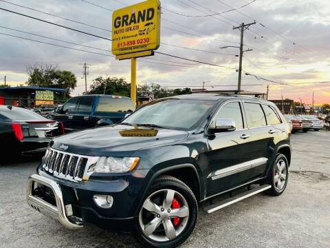 2013 Jeep Grand Cherokee for sale at Grand Auto Sales in Tampa FL