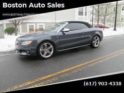 2011 Audi S5 for sale at Boston Auto Sales in Brighton MA