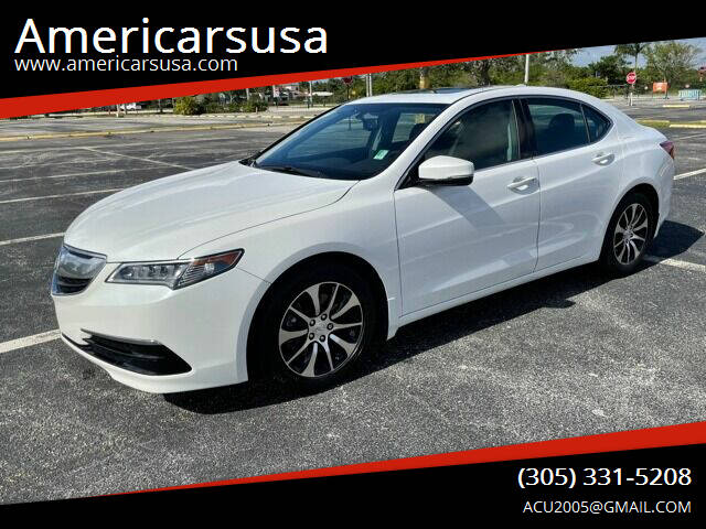 2015 Acura TLX for sale at Americarsusa in Hollywood FL