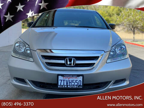 2006 Honda Odyssey for sale at Allen Motors, Inc. in Thousand Oaks CA
