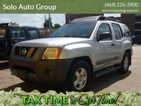 2006 Nissan Xterra for sale at Solo Auto Group in Mckinney TX