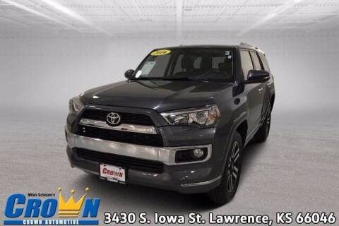 2016 Toyota 4Runner for sale at Crown Automotive of Lawrence Kansas in Lawrence KS