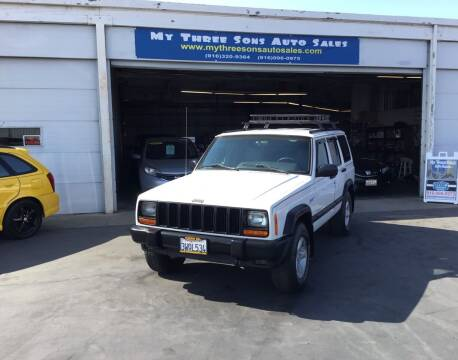 1997 Jeep Cherokee for sale at My Three Sons Auto Sales in Sacramento CA