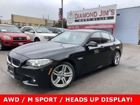 2015 BMW 5 Series for sale at Diamond Jim's West Allis in West Allis WI