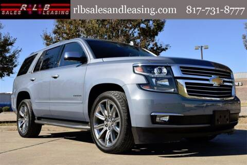 2015 Chevrolet Tahoe for sale at RLB Sales and Leasing in Fort Worth TX