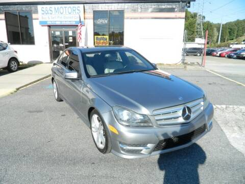 2013 Mercedes-Benz C-Class for sale at S & S Motors in Marietta GA
