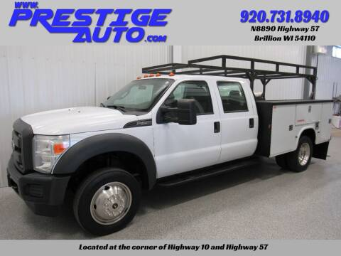 2014 Ford F-450 Super Duty for sale at Prestige Auto Sales in Brillion WI