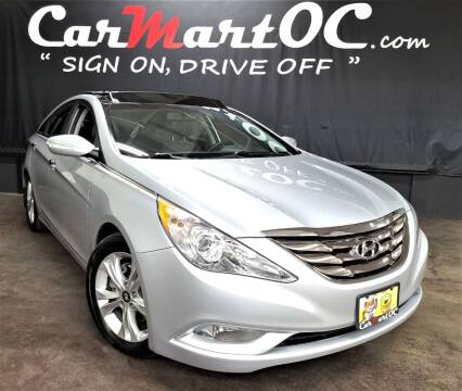 2013 Hyundai Sonata for sale at CarMart OC in Costa Mesa, Orange County CA