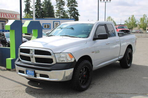 2013 RAM Ram Pickup 1500 for sale at BAYSIDE AUTO SALES in Everett WA