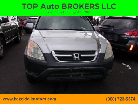 2001 Honda CR-V for sale at TOP Auto BROKERS LLC in Vancouver WA