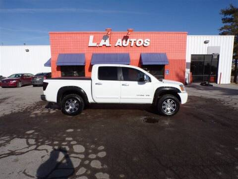 2005 Nissan Titan for sale at L A AUTOS in Omaha NE