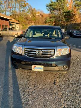 2012 Honda Pilot for sale at ALAN SCOTT AUTO REPAIR in Brattleboro VT