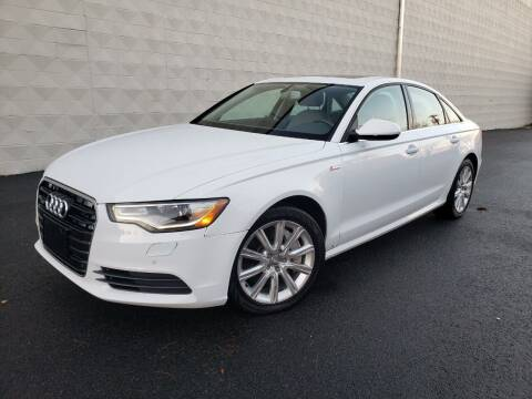 2015 Audi A6 for sale at Positive Auto Sales, LLC in Hasbrouck Heights NJ