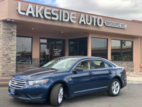 2016 Ford Taurus for sale at Lakeside Auto Brokers in Colorado Springs CO
