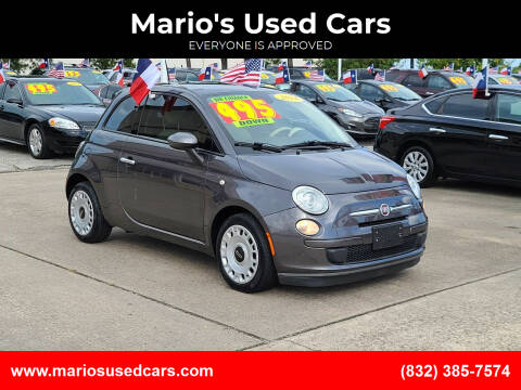 2014 FIAT 500 for sale at Mario's Used Cars in Houston TX
