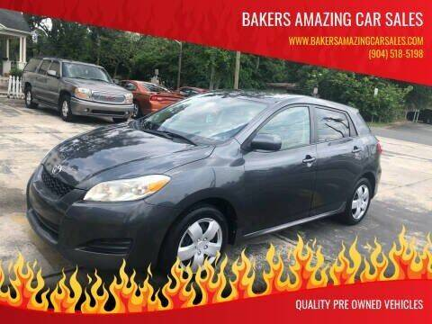 2009 Toyota Matrix for sale at Bakers Amazing Car Sales in Jacksonville FL