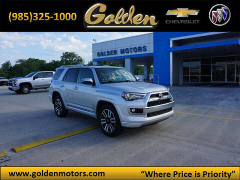 2018 Toyota 4Runner for sale at GOLDEN MOTORS in Cut Off LA