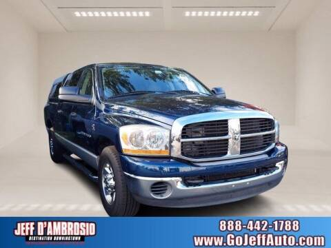2006 Dodge Ram Pickup 2500 for sale at Jeff D'Ambrosio Auto Group in Downingtown PA