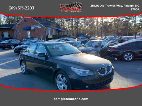 2007 BMW 5 Series for sale at Complete Auto Center , Inc in Raleigh NC