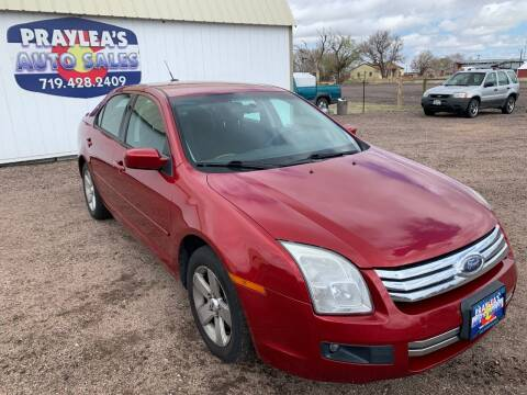 2007 Ford Fusion for sale at Praylea's Auto Sales in Peyton CO