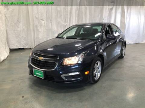 2016 Chevrolet Cruze Limited for sale at Green Light Auto Sales LLC in Bethany CT