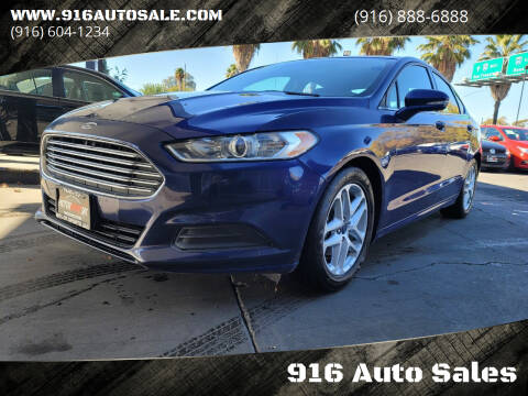 2016 Ford Fusion for sale at 916 Auto Sales in Sacramento CA