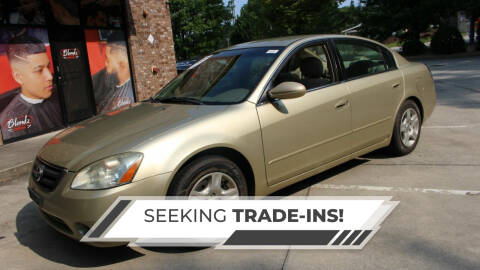 2002 Nissan Altima for sale at NORCROSS MOTORSPORTS in Norcross GA