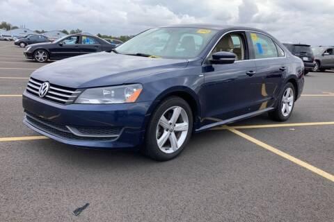 2014 Volkswagen Passat for sale at Mass Auto Exchange in Framingham MA